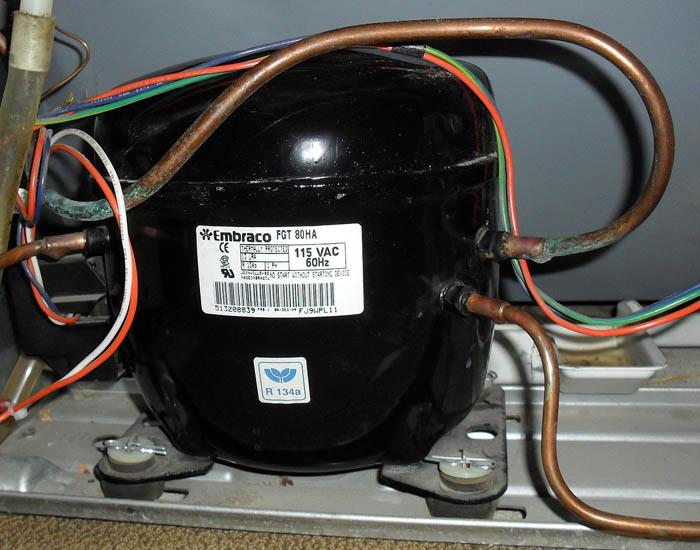 خرابی موتور یا کمپرسور یخچال ال جی