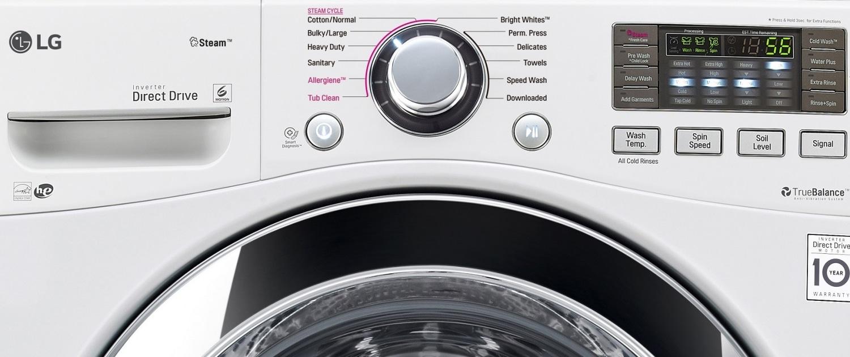 برنامههای شستشو و طرز کار با لباسشویی ال جی
