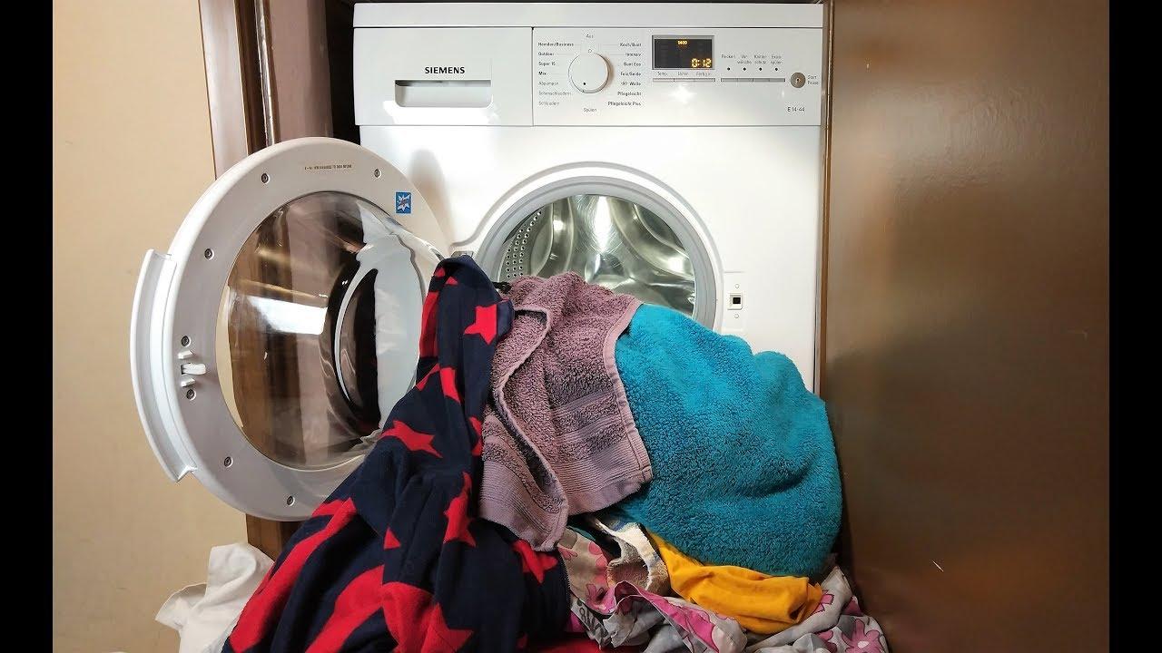 رفع بوی بد ماشین لباسشویی