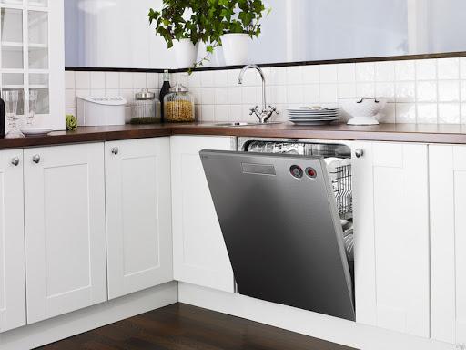 تمیز نشدن ظرفها در ماشین ظرفشویی
