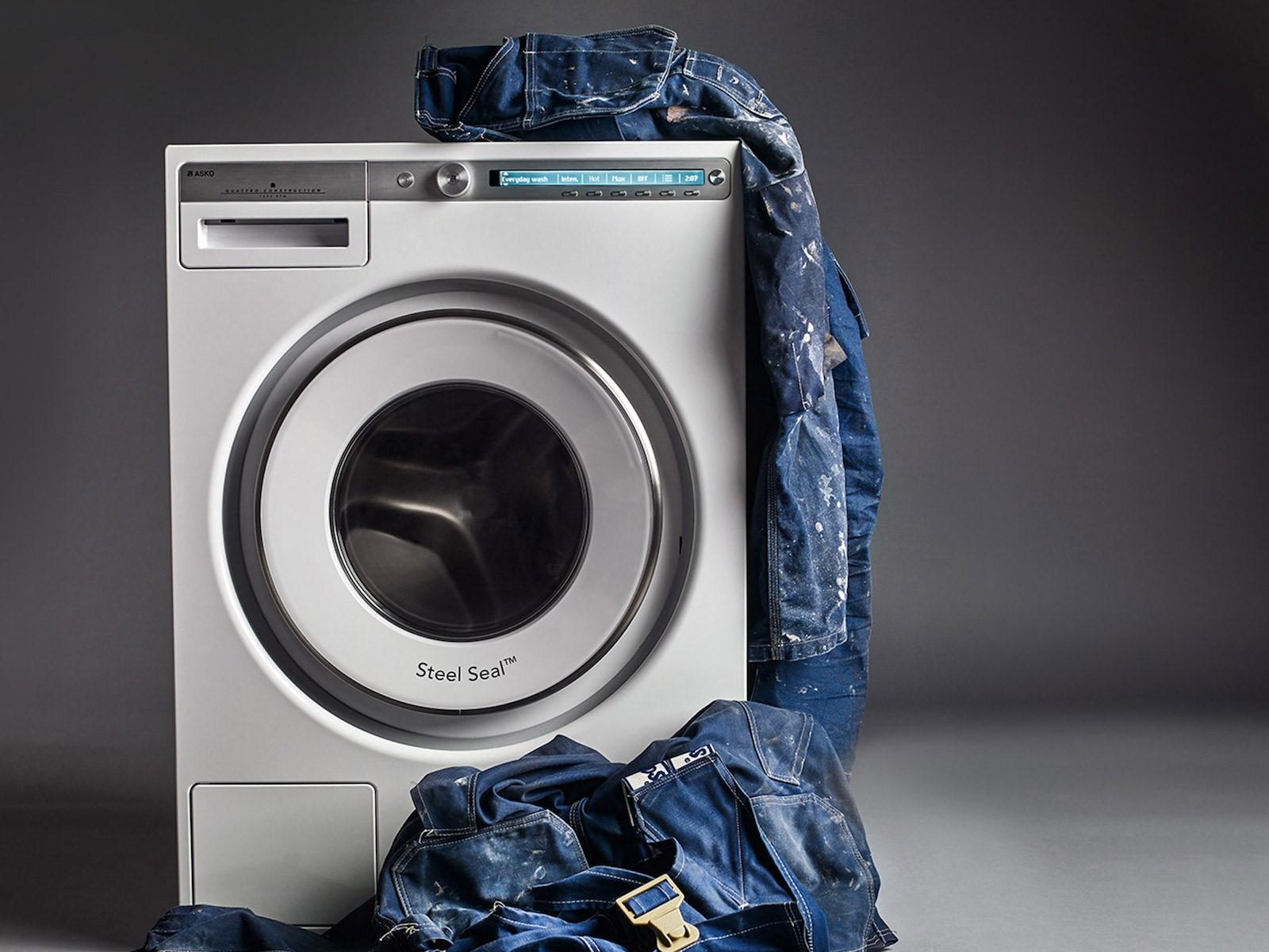 سوختن موتور لباسشویی