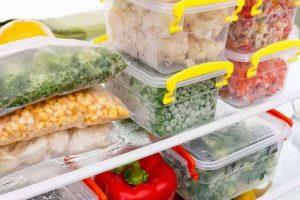 یخ زدن مواد غذایی درون یخچال